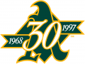Oakland Athletics 1997 Anniversary Logo iron on transfer