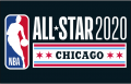 NBA All-Star Game 2019-2020 Dark decal sticker