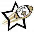 New Orleans Saints Football Goal Star iron on transfer