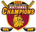 Minnesota-Duluth Bulldogs 2019 Champion Logo decal sticker