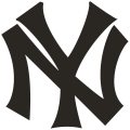 New York Yankees 1913-1914 Primary Logo decal sticker decal sticker