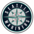 seattle mariners 1993-pres primary plastic effect logo iron on transfer