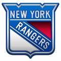 new york rangers crystal logo iron on stickers