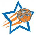 New York Knicks Basketball Goal Star decal sticker