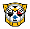 Autobots Pittsburgh Steelers logo decal sticker