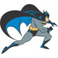 Batman DIY iron on stickers (heat transfer) version 9