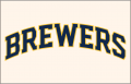 Milwaukee Brewers 2020-Pres Jersey Logo 02 decal sticker