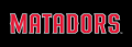 Cal State Northridge Matadors 2014-Pres Wordmark Logo 04 iron on transfer
