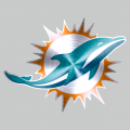 Miami Dolphins Stainless steel logo iron on transfer