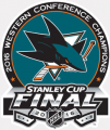 San Jose Sharks 2015 16 Champion Logo iron on transfer