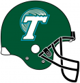 Tulane Green Wave 1998-2013 Helmet iron on transfer