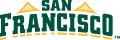 San Francisco Dons 2012-Pres Wordmark Logo 02 iron on transfer