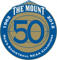 Mount St. Marys Mountaineers 2012 Anniversary Logo 02 decal sticker