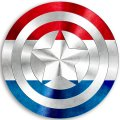 CAPTAIN AMERICA NETHERLANDS decal sticker