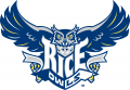 Rice Owls 1997-2009 Primary Logo iron on transfer