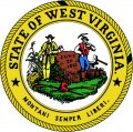 West Virginia Seal DIY iron on stickers (heat transfer)