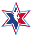 NBA All-Star Game 2019-2020 Secondary decal sticker