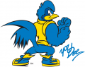Delaware Blue Hens 1999-Pres Mascot Logo 10 decal sticker