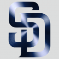 San Diego Padres Stainless steel logo iron on transfer