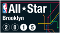 NBA All-Star Game 2014-2015 Alternate decal sticker