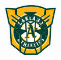Autobots Oakland Athletics logo iron on transfers