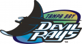 Tampa Bay Rays 1998-2000 Primary Logo decal sticker