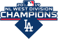 Los Angeles Dodgers 2019 Champion Logo decal sticker