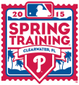 Philadelphia Phillies 2015 Event Logo decal sticker