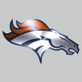 Denver Broncos Stainless steel logo iron on transfer
