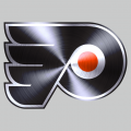 Philadelphia Flyers Stainless steel logo decal sticker