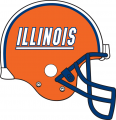 Illinois Fighting Illini 2012 Helmet decal sticker