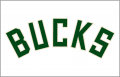 Milwaukee Bucks 2016-Pres Jersey Logo decal sticker