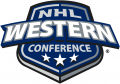 NHL Western Conference 2005-2006-Pres decal sticker