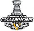 Pittsburgh Penguins 2016 17 Champion Logo 02 decal sticker