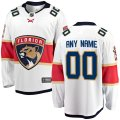 Florida Panthers Custom Letter and Number Kits for White Jersey