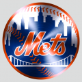 New York Mets Stainless steel logo iron on transfer