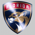 Florida Panthers Stainless steel logo decal sticker