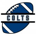 Football Indianapolis Colts Logo iron on transfer