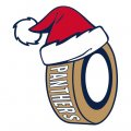 Florida Panthers Hockey ball Christmas hat decal sticker
