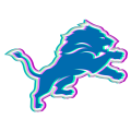 Phantom Detroit Lions logo iron on transfer