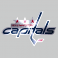 Washington Capitals Stainless steel logo decal sticker