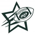 New York Jets Football Goal Star iron on transfer