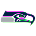 Phantom Seattle Seahawks logo iron on transfer
