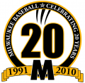 Wisconsin-Milwaukee Panthers 2010 Anniversary Logo iron on transfer