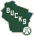 Milwaukee Bucks 2015-16-Pres Alternate Logo 01 decal sticker