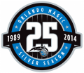 Orlando Magic 2013-14 Anniversary Logo iron on transfer