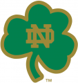 Notre Dame Fighting Irish 1994-Pres Alternate Logo 12 decal sticker