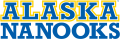 Alaska Nanooks 2000-Pres Wordmark Logo decal sticker