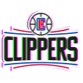 Phantom Los Angeles Clippers logo decal sticker
