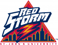 St. Johns Red Storm 1992-2001 Alternate Logo decal sticker